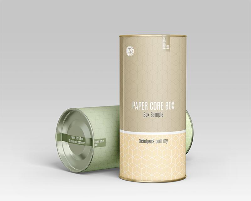 Paper Core Box